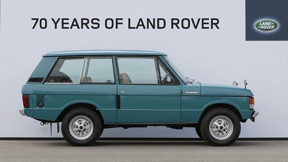 Der erste produzierte Range Rover