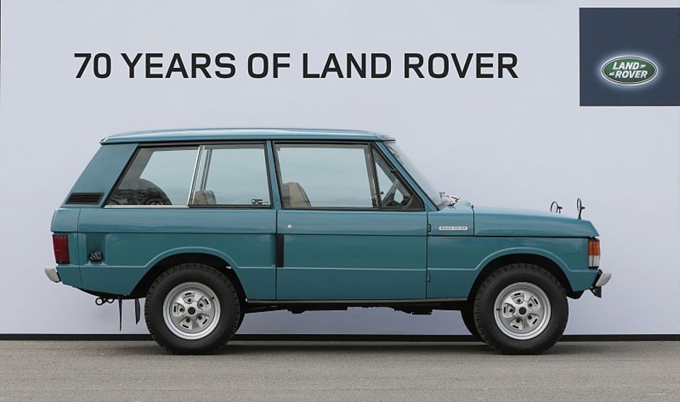 The first Range Rover produced