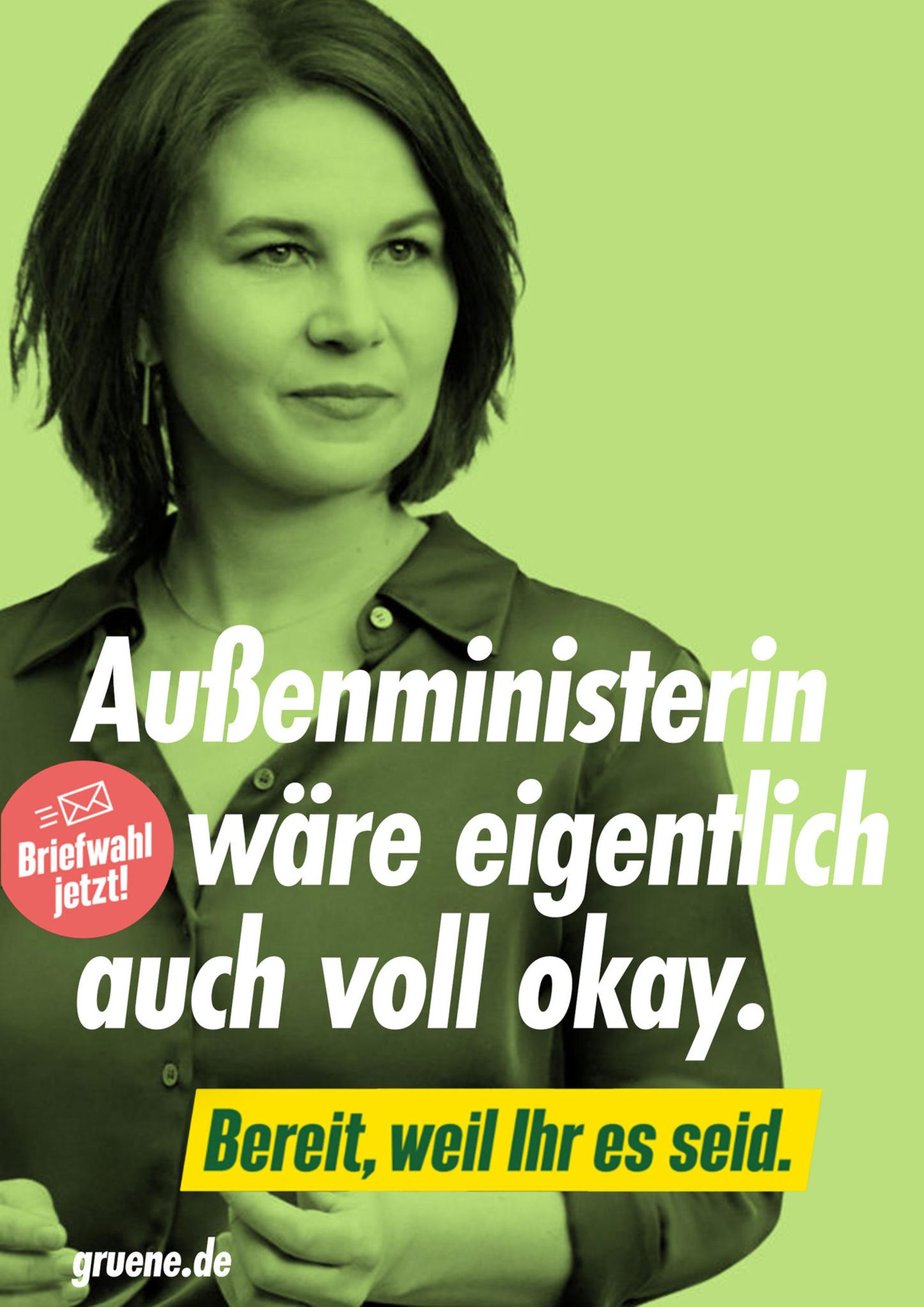 """Kreative Vorschläge: """"Außenministerin wäre eigentlich auch voll okay"""" – so könnten ehrliche Wahlslogans lauten"""