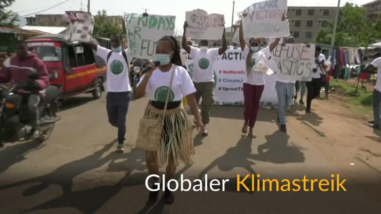 Video: Weltweite Proteste für mehr Klimaschutz