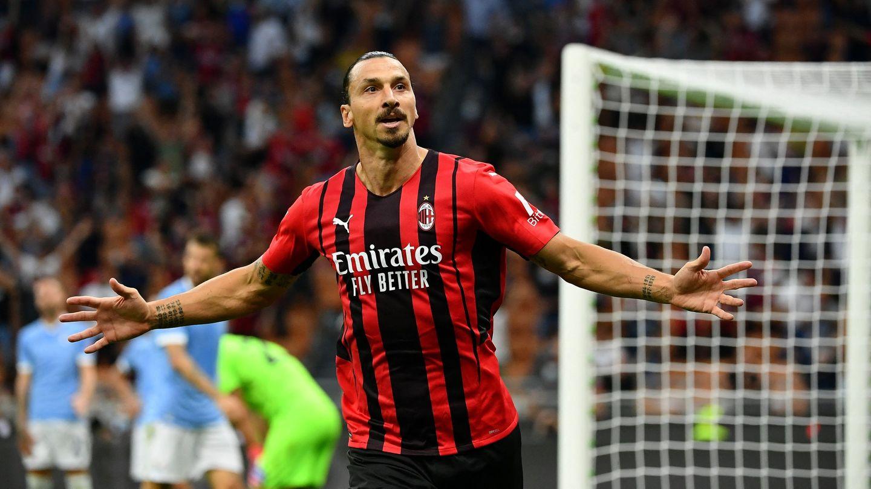 Zlatan Ibrahimovic Milan Lazio 12092021
