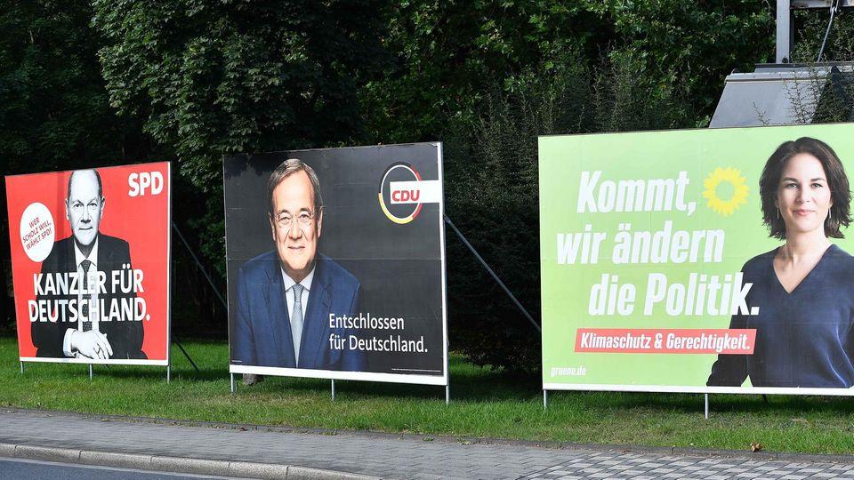 Olaf, Armin oder Annalena? Die letzte Entscheidung fällt nicht in Umfragen sondern am 26. September.