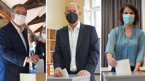 Dreimal Wahl der Kanzlerkandidaten