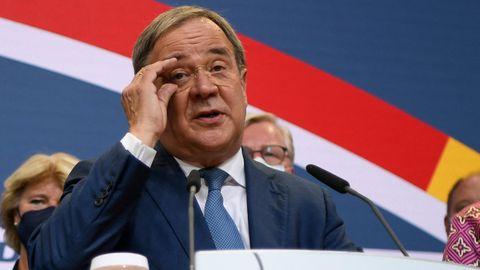 """""""Können mit Ergebnis nicht zufrieden sein"""" – Armin Laschet über vorläufiges Wahlergebnis der CDU"""