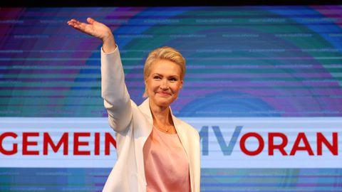 Manuela Schwesig (SPD), Ministerpräsidentin von Mecklenburg-Vorpommern