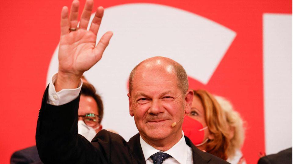 """SPD stärkste Kraft – """"Viele wollen, dass der nächste Kanzler Olaf Scholz heißt"""""""