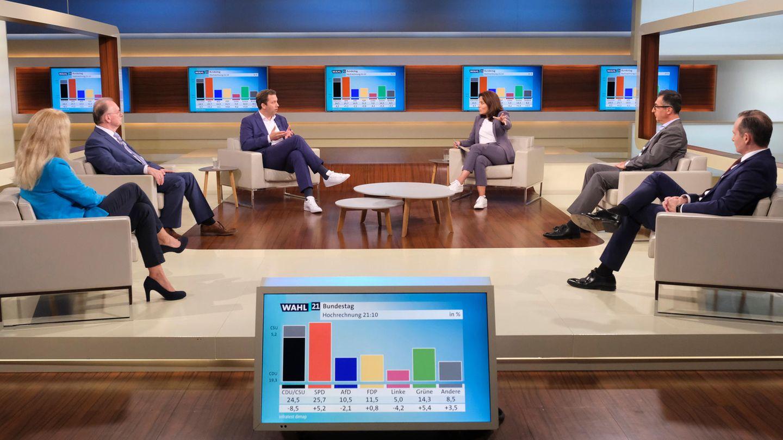 Anne Will Sendung nach der Bundestagswahl 2021