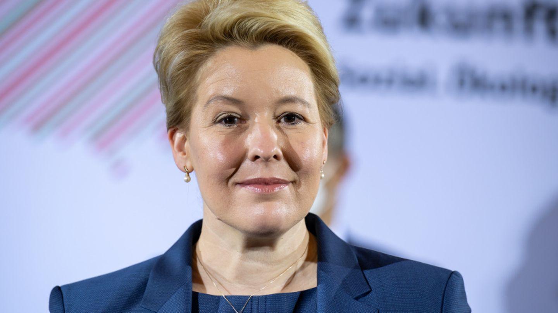 SPD-Spitzenkandidatin Franziska Giffey