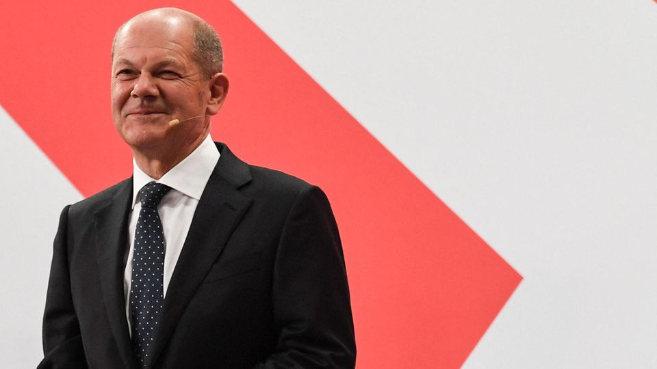 Olaf Scholz, Kanzlerkandidat der SPD
