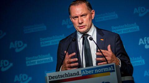 AfD-Spitzenkandidat Tino Chrupalla zur Bundestagswahl 2021