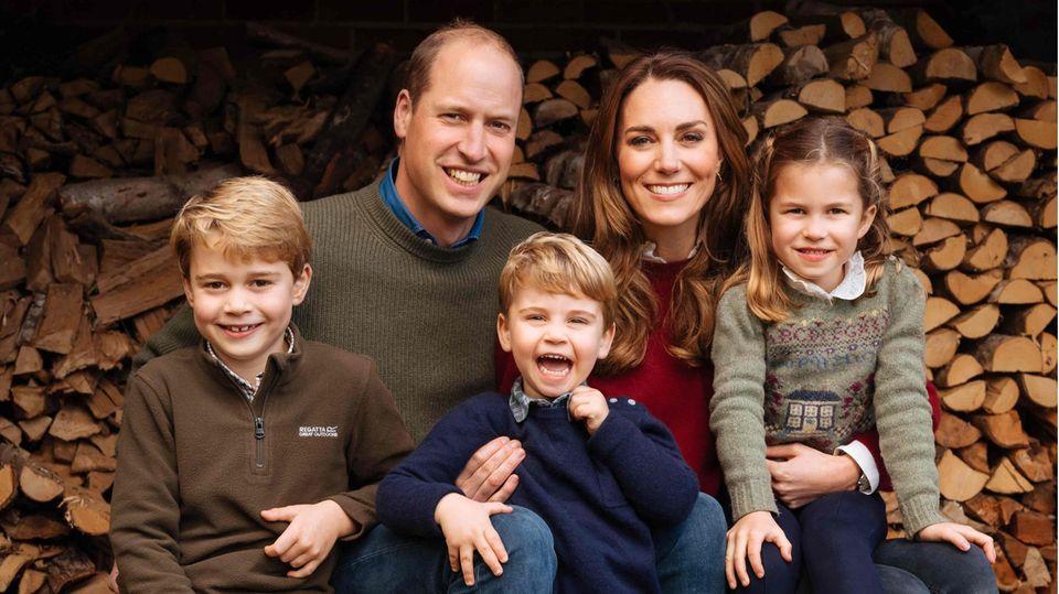 Vip News: William und Kate gehen mit ihren Kindern Burger essen