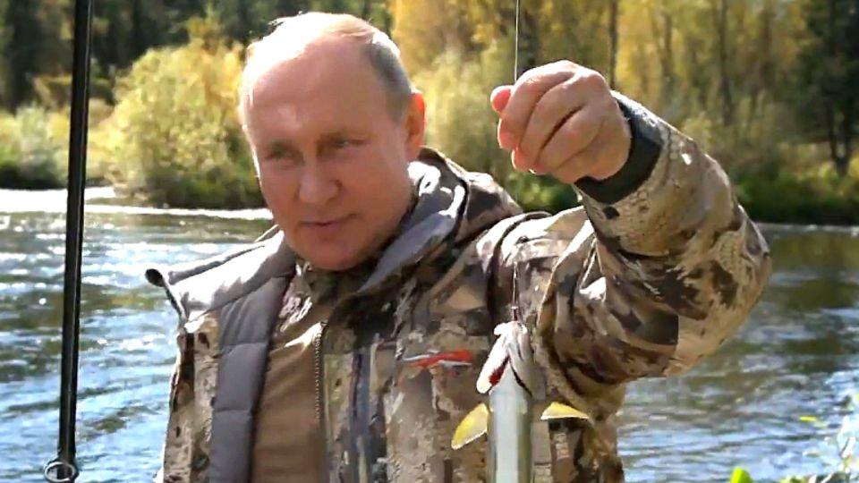Der russische Präsident Wladimir Putin hat sich mehrere Tage in der sibirischen Wildnis entspannt.