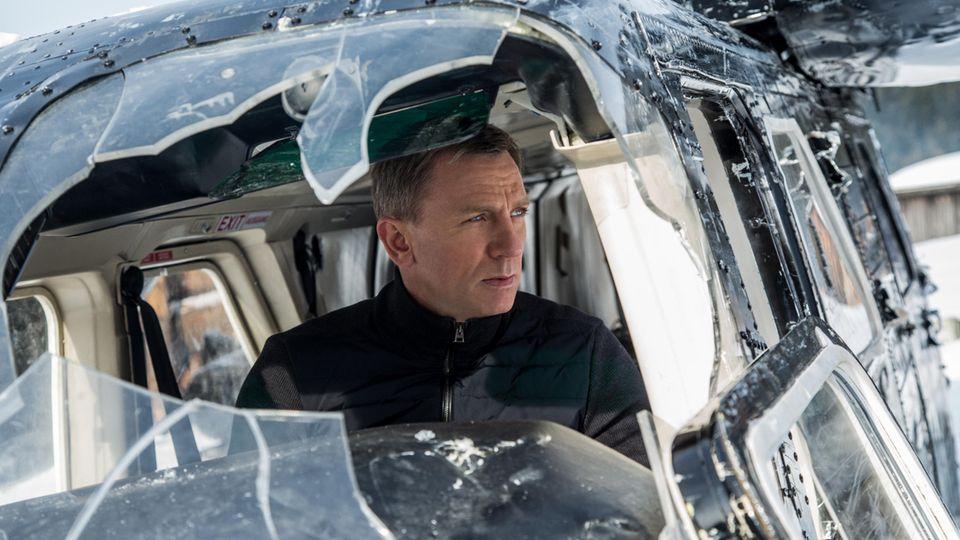 """Daniel Craig als James Bond im Film """"Spectre"""""""