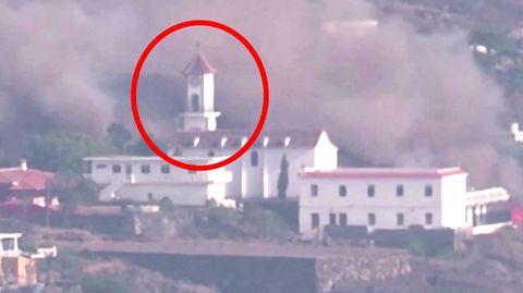 La Palma: Lavastrom zerstört Kirchturm – und nähert sich der Küste