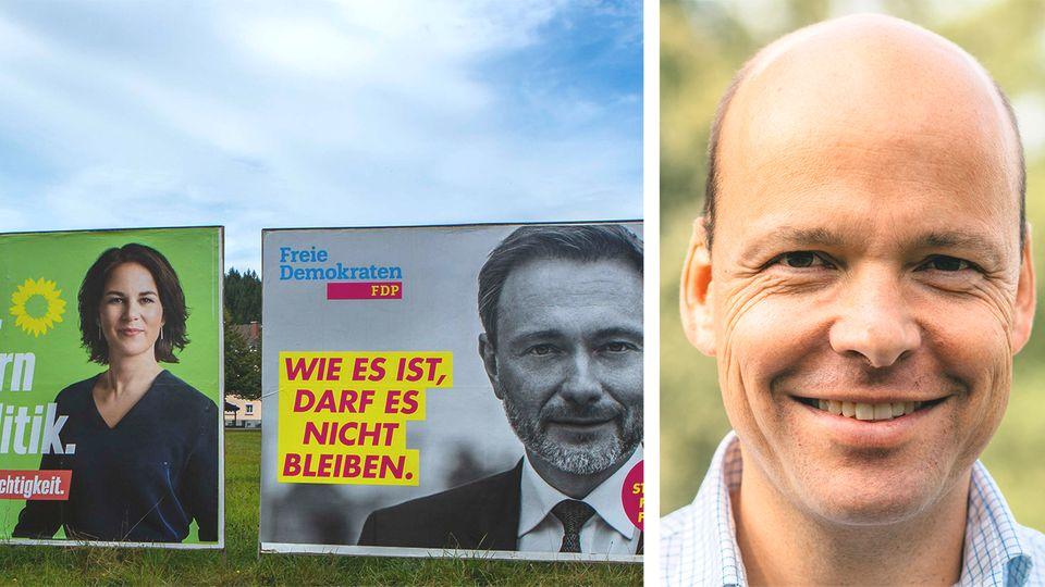Wen machen FDP und Grüne zum Kanzler? stern-Experte über Koalitionen, Erstwähler und Laschets Zukunft