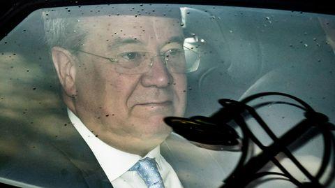 Armin Laschet auf dem Weg zur Vorstandssitzung der CDU am Montagmorgenim Konrad-Adenauer-Haus
