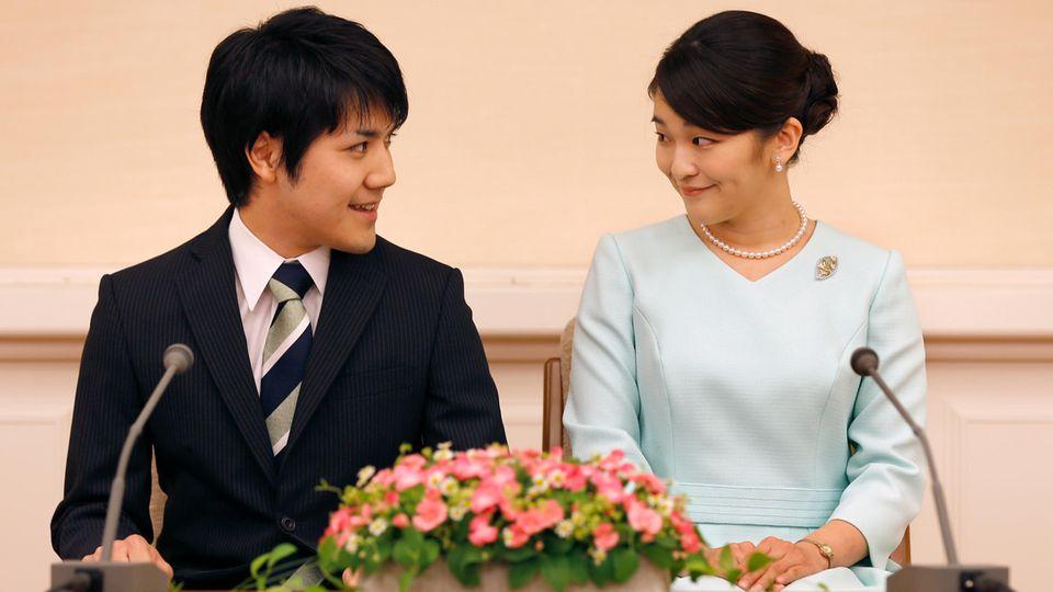 Prinzessin Mako und ihr Verlobter Kei Komuro