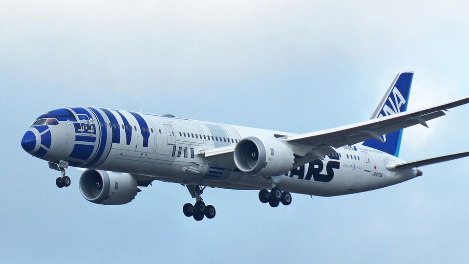Boeing 787 Starwars ANA