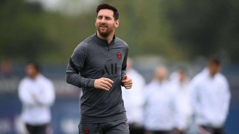 Lionel Messi PSG Training