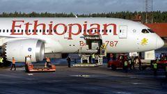 Boeing 787 von Ethiopian