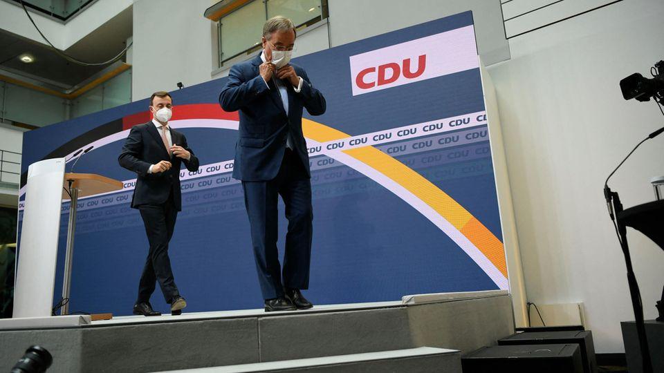 Laschet nach CDU-PK