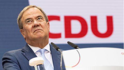 Der Kanzlerkandidat der Union, Armin Laschet