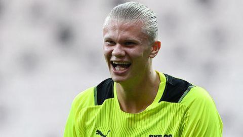 Erling Haaland Borussia Dortmund 2021