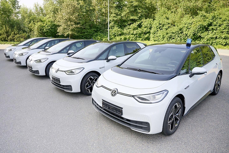 VW ID.3 Polizei Niedersachen