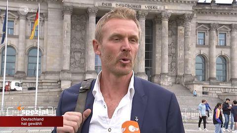 Nerling vor dem Reichstag