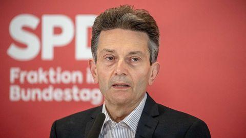 Rolf Mützenich, Vorsitzender der SPD-Bundestagsfraktion