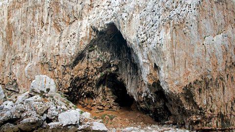 Der Gorham-Höhlenkomplex in Gibraltar