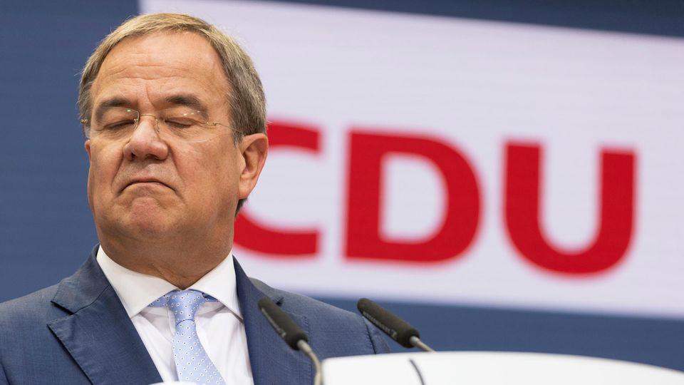Armin Laschet (CDU), Kanzlerkandidat der Union