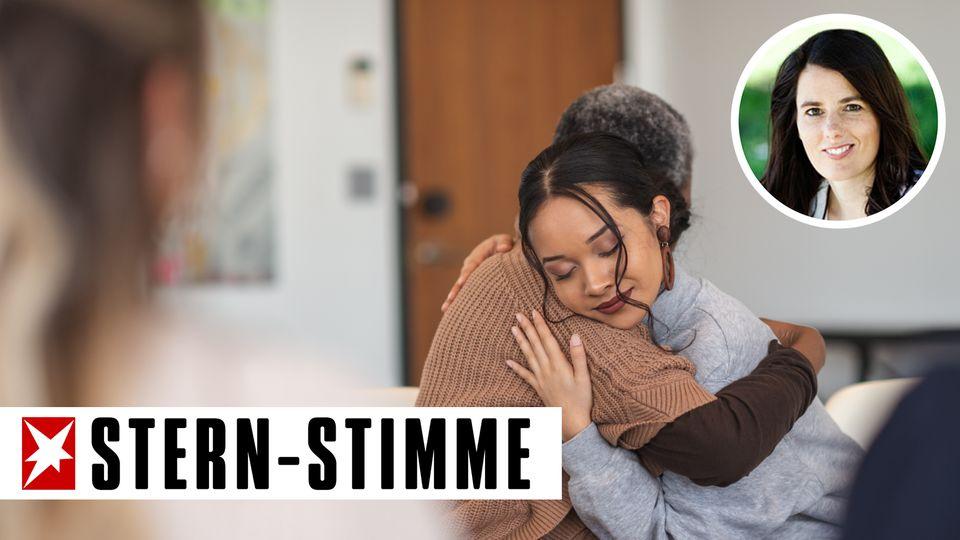 Bleibt die Ex-Frau Teil der erweiterten Familie, kann es zu Konflikten kommen (Symbolbild)
