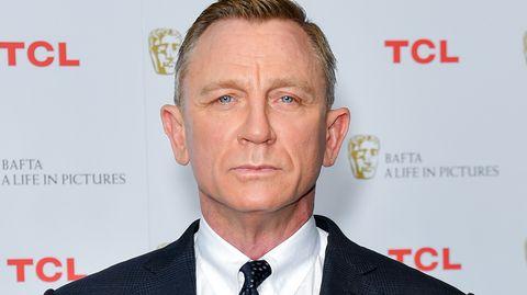 James-Bond-Darsteller und Schauspieler Daniel Craig im Bond-Interview mit Frauke Ludowig von RTL