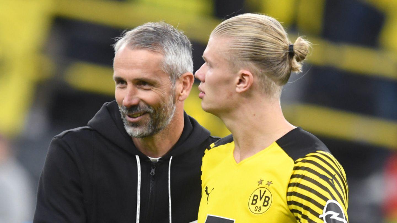 Champions League : Dortmund bangt vor Heimspiel gegen Sporting Lissabon um Haaland und Reus