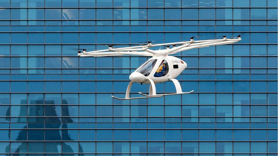 VoloCity des Unternehmens Volocopter