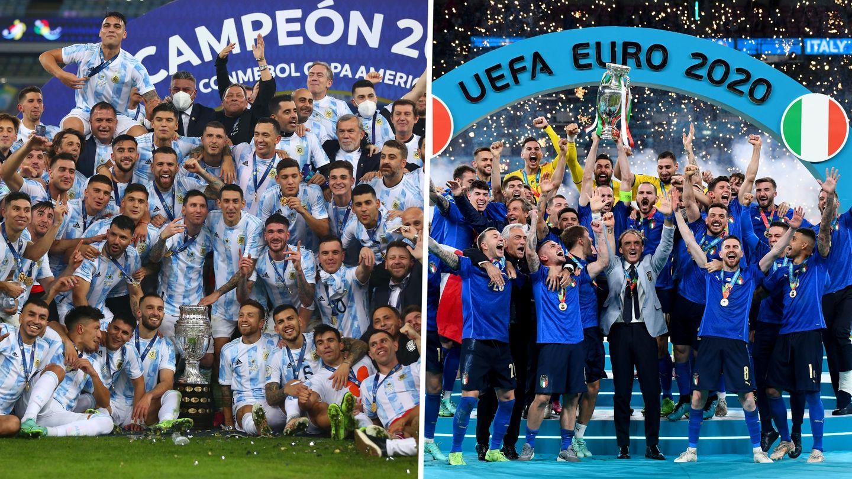 Argentinien vs. Italien: CONMEBOL und UEFA kündigen Gigantenduelle zwischen Copa-Sieger und Europameister an