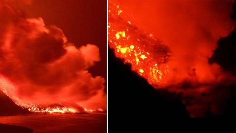 Vulkan-Insel: Flugverkehr nach La Palma weitgehend unterbrochen