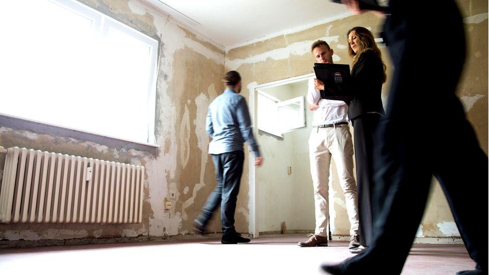 Wohnungsbesichtigung