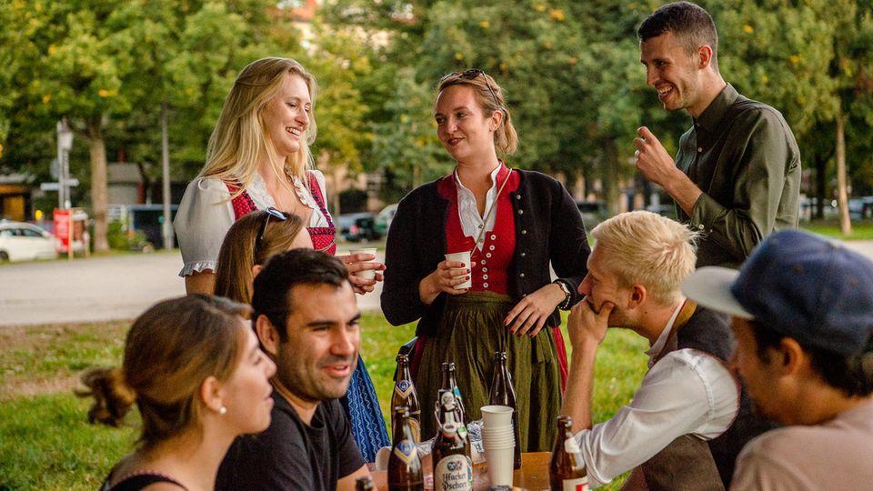 Oktoberfest 2021 auf der Theresienwiese