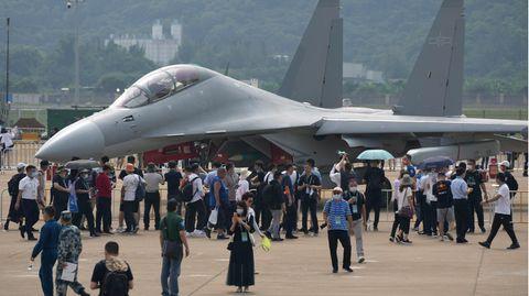 13. internationalen Luft- und Raumfahrtausstellung in China