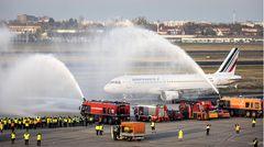 Abschiedsflug AF in Berlin-Tegel