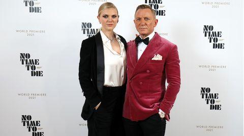 Daniel Craig und seine Tochter Ella