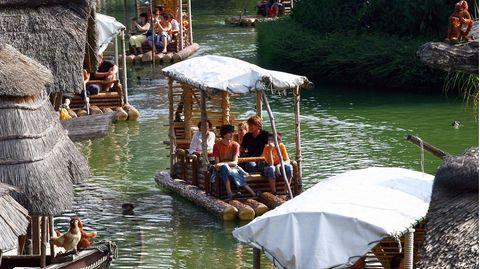 Die Floßfahrt im Europa-Park