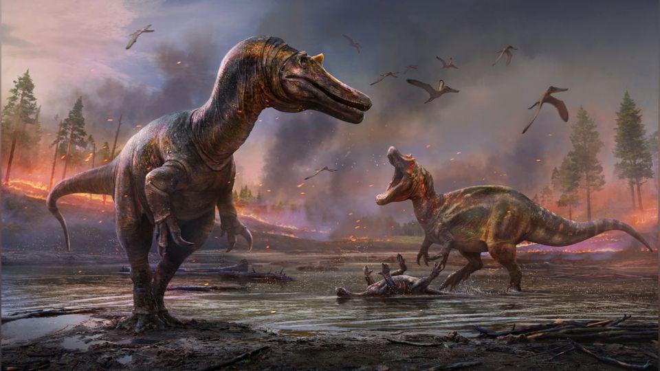 Forscher auf der Isle of Wight entdeckten neue Dinosaurier-Arten.