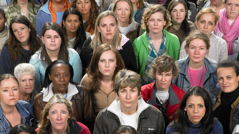 Frauen in einer Gruppe