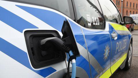 BMW i3 der Polizei Bayern