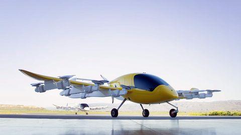 Kittyhawk Cora hebt neben der Unterstützung von Boeing auch mit Google-Know-How und Geld von Google-Mitbegründer Larry Page ab.