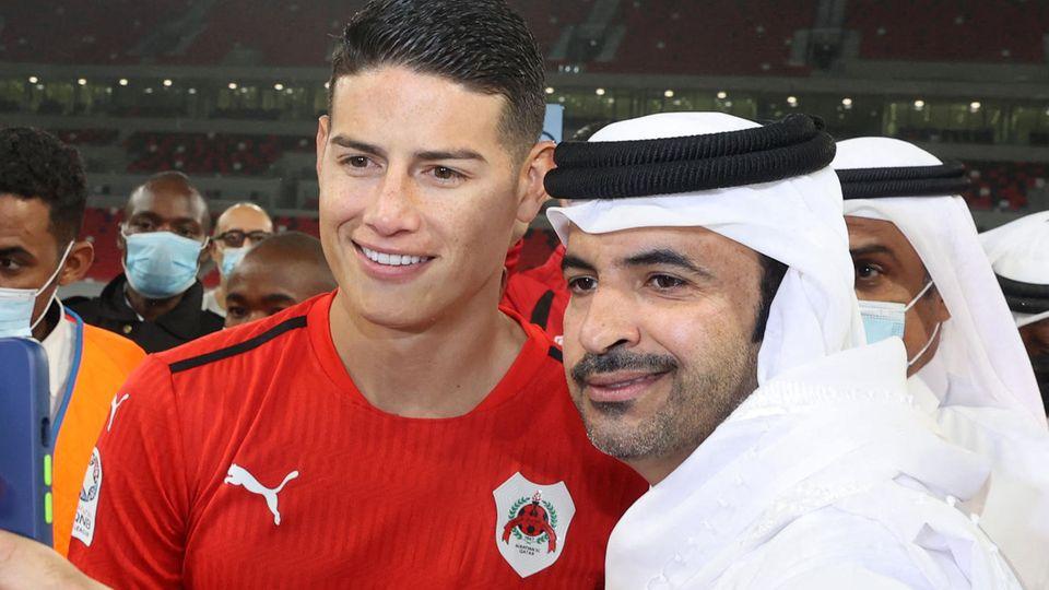 James Rodriguez hat es im Herbst seiner Karriere nach Katar zum KlubAl-Rayyan verschlagen