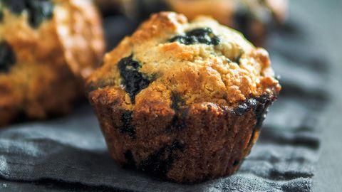 Rezept: Für diese Blaubeer-Muffins werden nur drei Zutaten benötigt